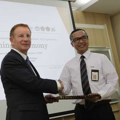 Indonesia MOU signing